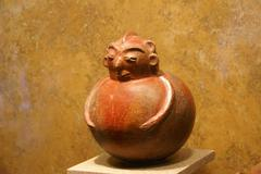Pre columbian mexican pottery Stock Photos