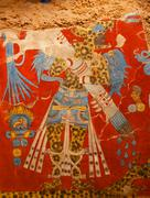 Prehistoric mexican god Stock Photos