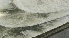 Pulteney Weir close up Stock Footage