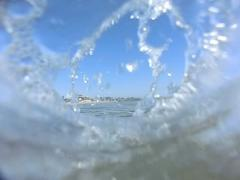Venice Beach Underwater Ocean Waves 03 Slow Motion 240fps California - stock footage