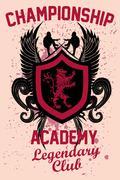 surf academy - stock illustration