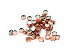 ammunition capsules - stock photo