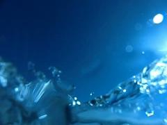 Underwater Ocean HS29 Slow Motion 240fps - stock footage