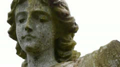 Angel statue, with camera move. Stock Footage