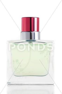 Stock photo of perfume bottle