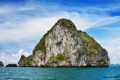andaman sea islands - stock photo