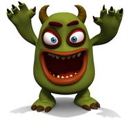 Monster Stock Illustration