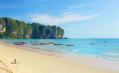 Ao nang beach Stock Photos