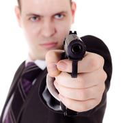 Armed and dangerous Stock Photos