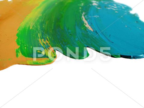 Stock photo of Painted colors