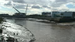 River Usk Stock Footage