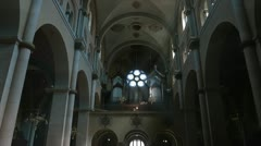 Maribor Church in Slovenia Stock Footage