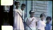 African American Black Teenagers Detroit Teen 1960s Vintage Film Home Movie 4499 Stock Footage