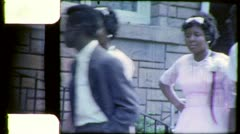 BLACK TEENS African American Mississippi 1960s Vintage Film Home Movie 4503 Stock Footage