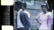Stock Video Footage of BLACK TEENS African American Mississippi 1960s Vintage Film Home Movie 4503