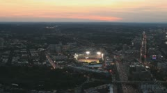 Fenway Park Sunset Stock Footage