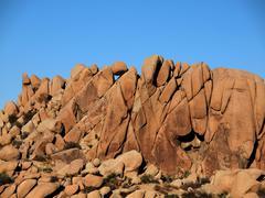 jumbo rock formation - stock photo