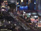 Stock Photo of las vegas blvd night