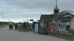 Promenade Cafetera Stock Footage