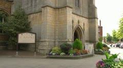 St Dionysius Church Stock Footage