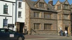Tudor School Building Stock Footage