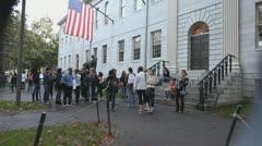 Harvard Students Stock Footage