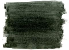 Black watercolor paint strokes abstract background. Stock Photos