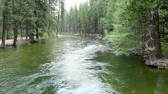 Merced River - stock footage