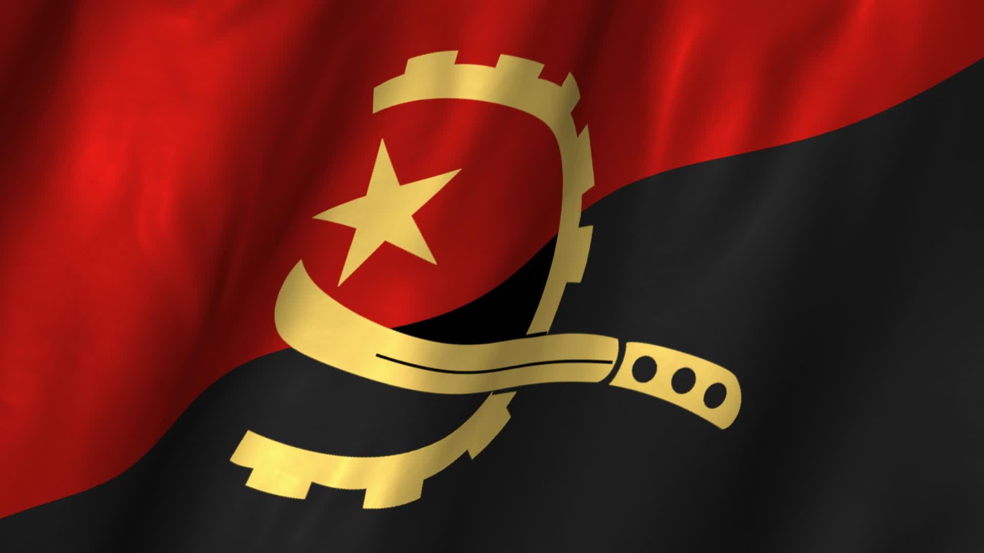 Angola Waving Flag ~ H...