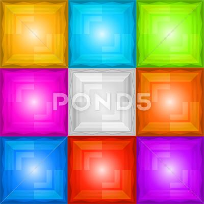 Stock Illustration of abstract background seamless