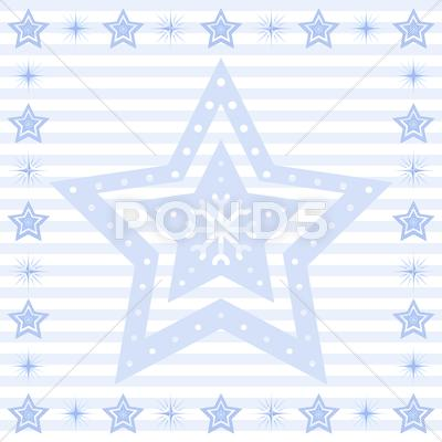Stock Illustration of stars background