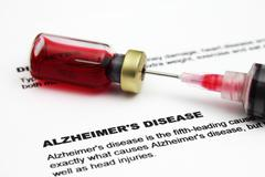 Alzheimer disease Stock Photos