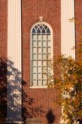 Harvard Unversity Ikkuna syksyllä Kuvituskuvat