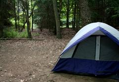 The Campground - stock photo