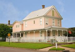 Stock Photo of Coastal victorian home
