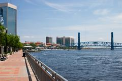Stock Photo of Riverwalk Jax