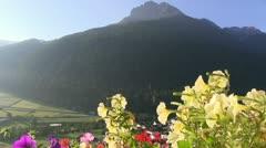 Austria - Stubai Valley Stock Footage