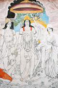 Stock Illustration of mural