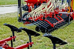 agricultural equipment. details 33 - stock photo