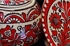 Romanian traditional ceramics 5 Stock Photos