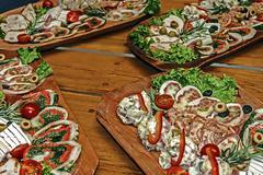 arrangement of food 24 - stock photo