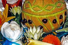 Fruit arrangement 2 Stock Photos