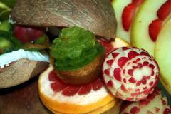fruit arrangement 4 - stock photo