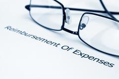 Reimbursement for expenses Stock Photos