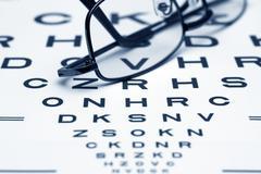 Eye chart Stock Photos