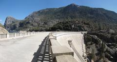 Hetch Hetchy Dam - stock photo
