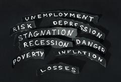 Crisis concept Stock Illustration