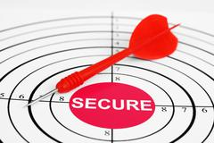 Secure target Stock Photos