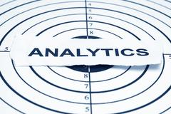 analytics target - stock photo