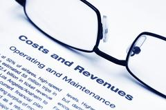 Cost and revenue Stock Photos
